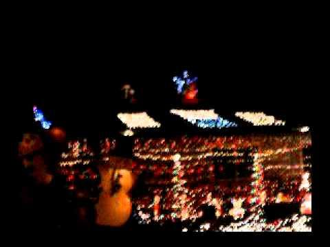 Tulare California christmas lights - YouTube