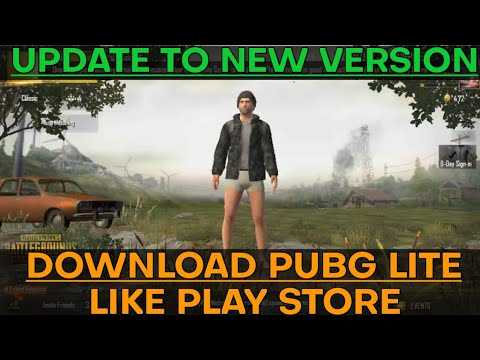 Easiest Way to download PUBG MOBILE LITE and update