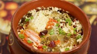 Рыба в горшочках с овощами запеченная в духовке. http://leoanta.ru/