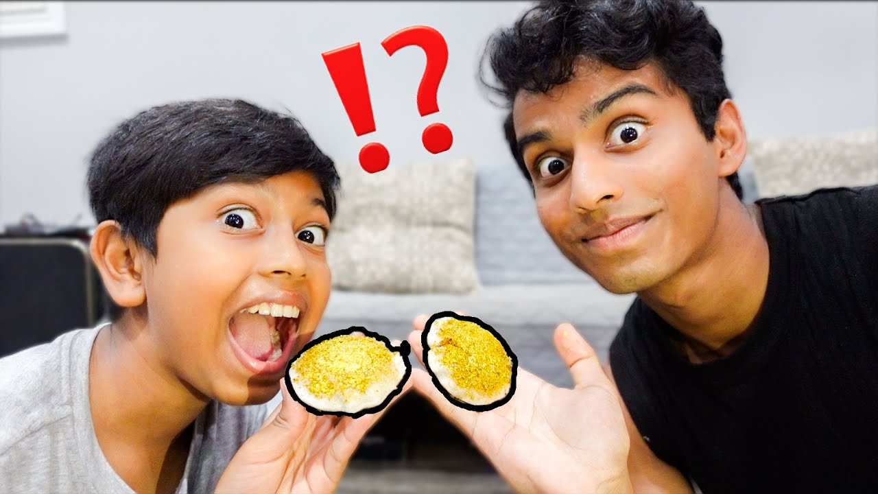 Eating 24 Kt Real Gold! | தங்க இட்லியின் சுவை? | VelBros Tamil