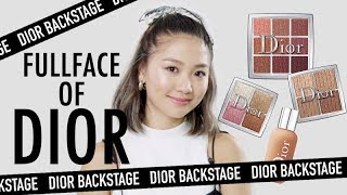 🎃Dior Backstage Makeup 化全妝 | Pumpkin Jenn🎃