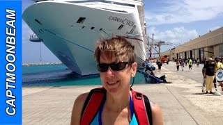 Carnival Valor Tour And Balcony Stateroom, Cruise Ship