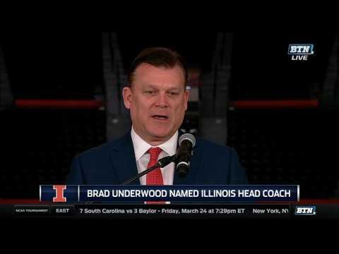 Brad Underwood Introduced as Illinois Men