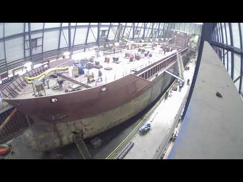 Timelapse building Cement Carrier Cembrook