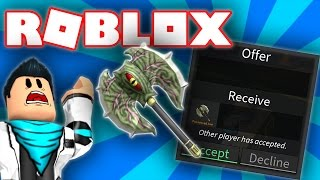 FREE POSSESSED AXE IN ROBLOX ASSASSIN! (FREE EXOTIC)