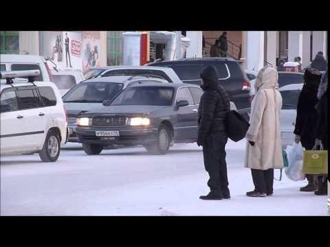 download Walking in Yakutsk - Oymyakon, Siberia, Yakutia, Russia at –50C (December 2014)