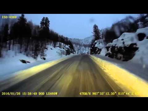 E6 from Fauske to Narvik