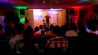 Vikash Raniga's karaoke performance