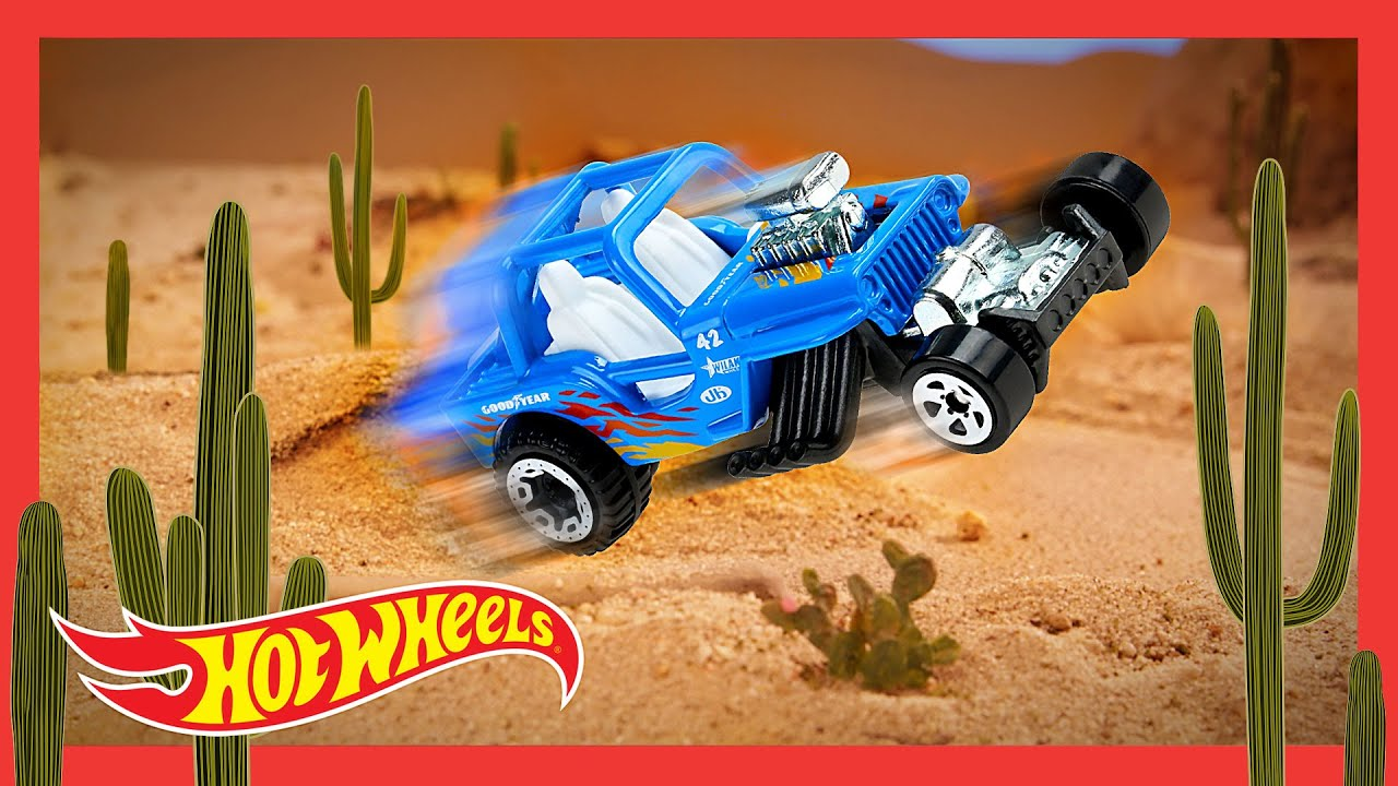 "HOT WHEELS BAJA BLAZERS™ in ""TIME IN THE SAND"" 🌵 