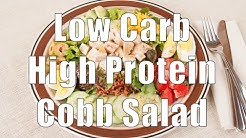 Low Carb, High Protein Cobb Salad (700 Calorie Meals) DiTuro Productions