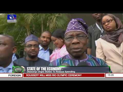 News Across Nigeria: ''Reduce Spending'' Obasanjo Advises Governors