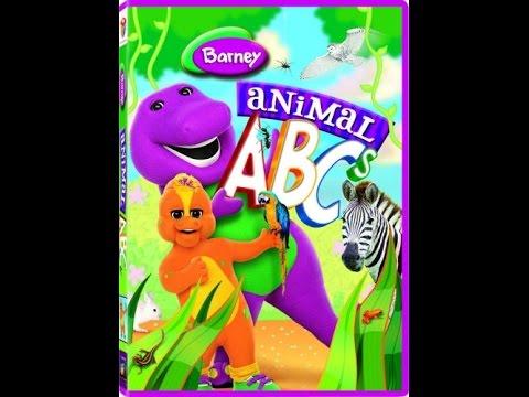 Opening To Barney Animal Abcs 2008 Dvd Youtube