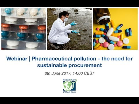Webinar | Pharmaceutical pollution and sustainable procureme