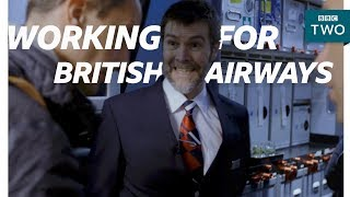 Rhod struggles to smile - Rhod Gilbert's Work Experience - BBC iPlayer