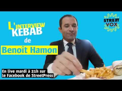 Teaser - L'interview kebab de Benoît Hamon