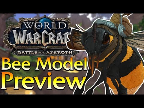 Bee Mount/NPC/Pet & Weapon - In Game Preview & Speculation | World of Warcraft