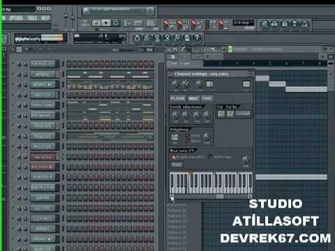 Atillasoft fl studio oyun havası
