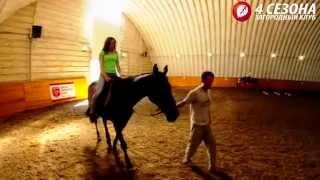 Катание на лошадях и конные прогулки в Подмосковье в загородном клубе