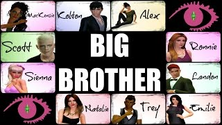 The Sims 3 - Big Brother 2016 - Launch Night