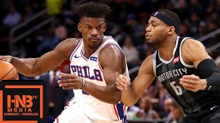 Philadelphia Sixers vs Detroit Pistons Full Game Highlights | 12.07.2018, NBA Season Video