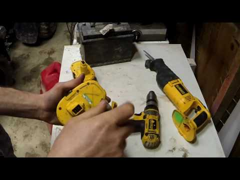 Power Tool Battery Hack- Use Any Battery To Power Your Tools