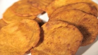 How To Cook (gharge) Lal Bhopla Puri (red Pumpkin Puffs) By Archana