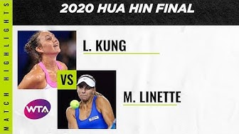 Magda Linette vs. Leonie Kung | 2020 Hua Hin Final | WTA Highlights