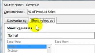 """How to add """"Show Value As"""" calculations to your Excel Pivot Table"""