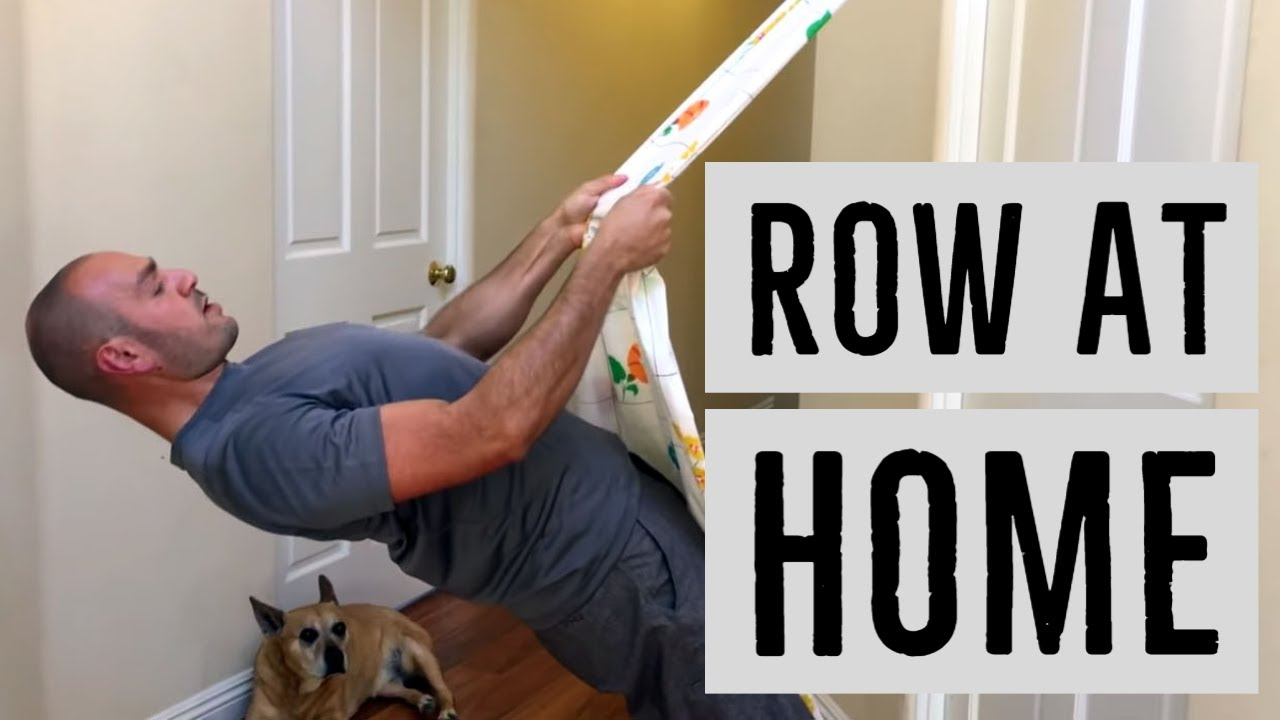 How To Do Incline Rows With Minimal Equipment Just A Bed