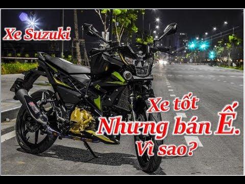 Vì Sao Xe Máy Suzuki Tốt Lại Bán ế? Thanh TN Motovlog