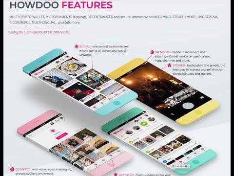 Howdoo - Blockchain Powered Social Network | Features & Token Sale