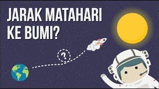 Seberapa Jauh Bumi dan Matahari?