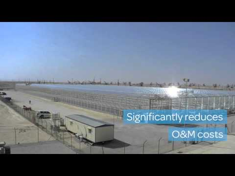 Proven Automated Cleaning System for solar EOR