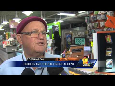 The Orioles and the Baltimore accent