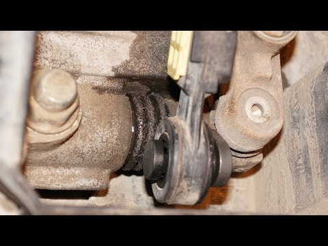 Замена сальника (с пыльником) на штоке в коробке IB5 Ford Focus 1 Duratec 1.6 V8