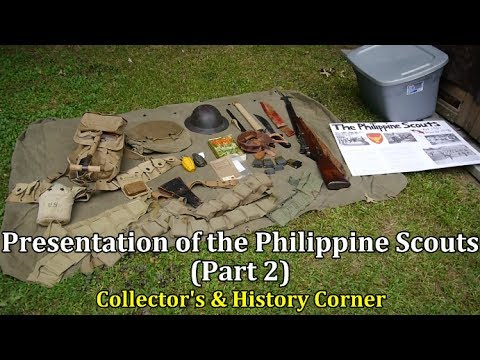Presentation of the Philippine Scouts | Part 2