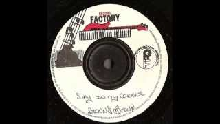 Dennis brown  - Stay in my Corner + Version  - Record Factory -  digital stepper