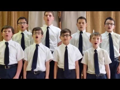 Padre Pio Academy Boy's Ensemble: God Bless America