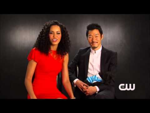 The Tomorrow People   Madeleine Mantock and Aaron Yoo