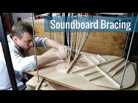 Soundboard Bracing (Ep 16 - Acoustic Guitar Build)