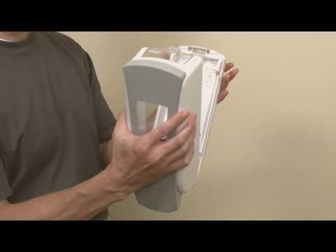 Installing your soap dispenser