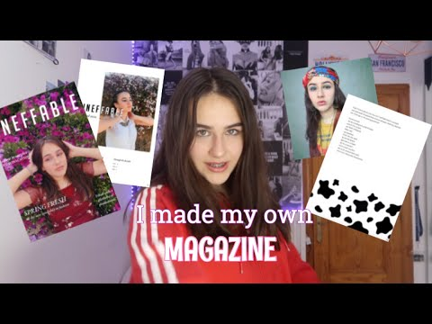How to make your own magazine..THE SIMPLE WAY
