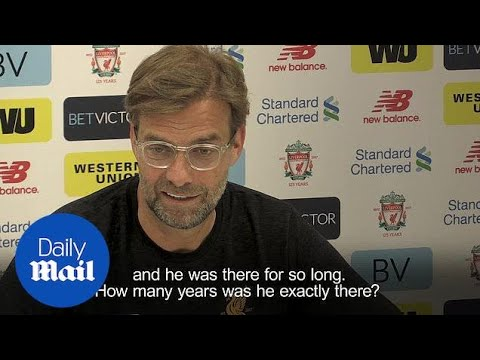 Liverpool manager Jurgen Klopp pays tribute to 'outstanding' Wenger - Daily Mail