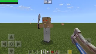 Fortnite Weapons vs Granny Horror Game in Minecraft PE