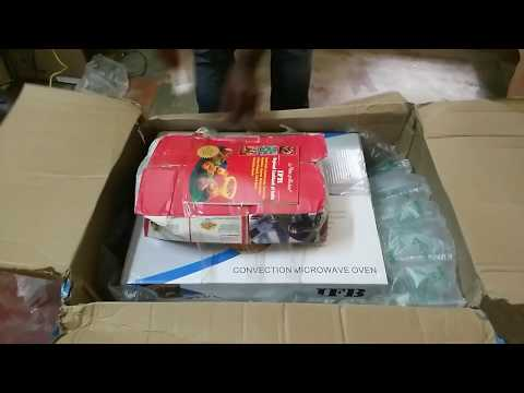 Unboxing IFB 25SC4 Microwave convention oven