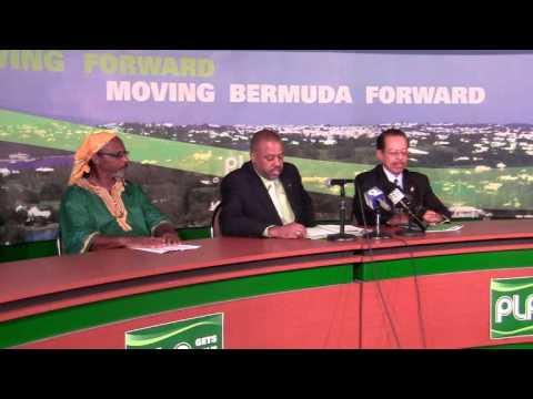 PLP Announces Candidate Darius Tucker Bermuda November 23 2011