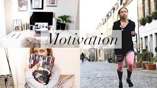 How I get Motivated | Workout Routine & Working from home | ad