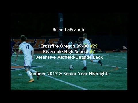Brian LaFranchi Soccer Highlights Crossfire Oregon Premier