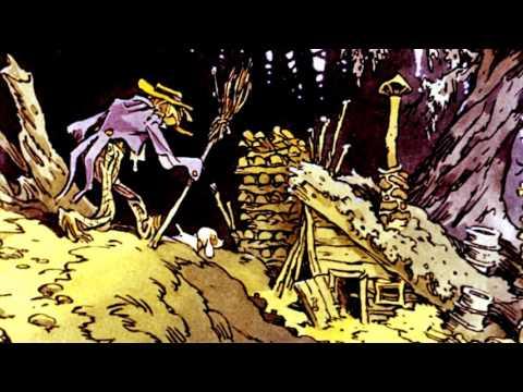 Волшебник Изумрудного города  Элли спасает Страшилу