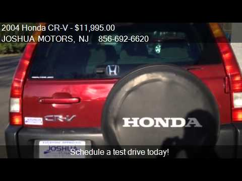 2004 honda cr v ex 4wd at for sale in vineland nj 08360 for Joshua motors vineland nj